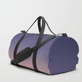 Sunrise with Crescent Moon Duffle Bag