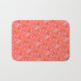Sailor Mars Pattern / Sailor Moon Bath Mat