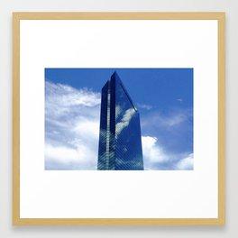 Cloaked Tower Framed Art Print