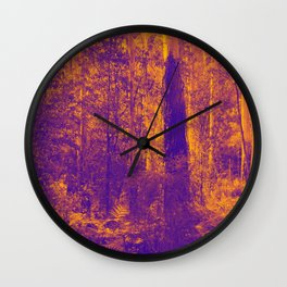 OVER THE RIVER AND INTO THE ABYSS Wall Clock
