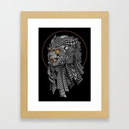 Barbarian Lion Framed Art Print