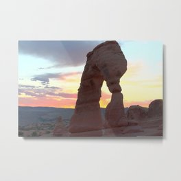 What's That? It's an Arch Metal Print