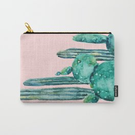 cactus jungle watercolor painting Carry-All Pouch