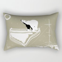 Umka - Polar Bear Rectangular Pillow