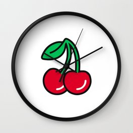 Cherries Jubilee Wall Clock