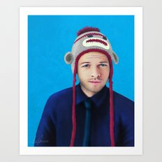 Misha Collins Art Print