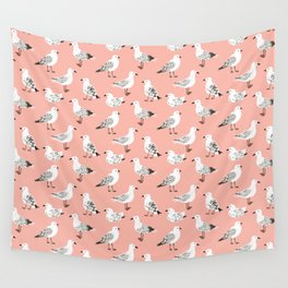 Pretty Pigeons Wall Tapestry