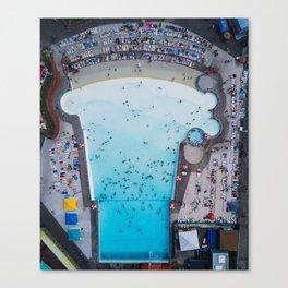 Wild Waves Wave Pool Canvas Print