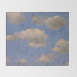 Clouds Surrealism Throw Blanket