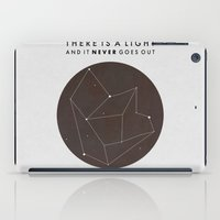 nan lawson iPad Cases featuring There Is A Light by Nan Lawson