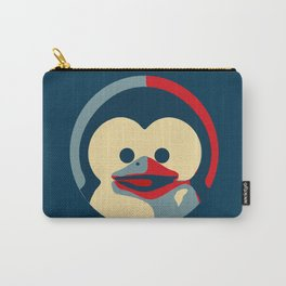 Linux tux penguin obama poster baby  Carry-All Pouch