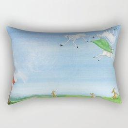 Sheep Shenanigan's Rectangular Pillow