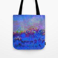 08-20-13 (Skyline Glitch) Tote Bag