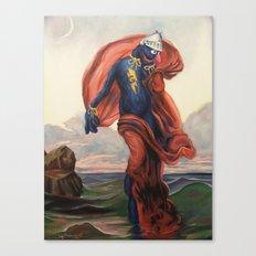 Super Evening Canvas Print
