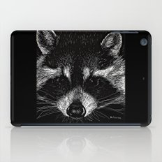 The Curious Raccoon iPad Case