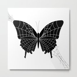 Spider-fly Metal Print