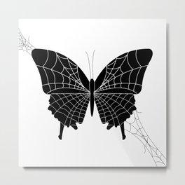 Spider-fly Metal Print
