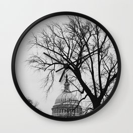 US Capitol Building Wall Clock