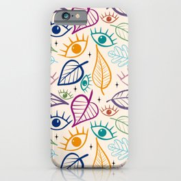 Go Outside Look Inside  iPhone Case