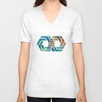 infinite V-neck T-shirts featuring Infinite by Blank & Vøid