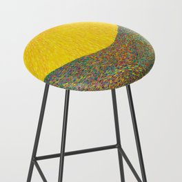 Here Comes the Sun - Van Gogh impressionist abstract Bar Stool
