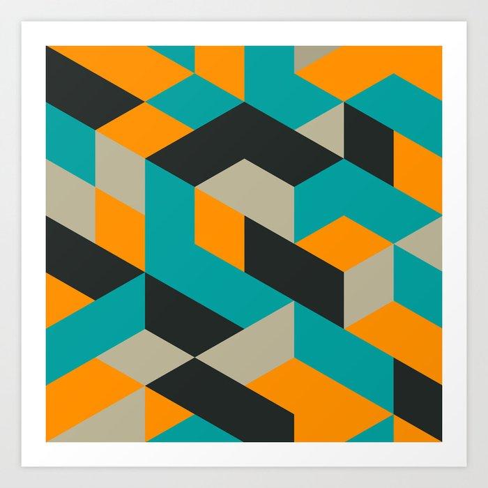 Tri V Art Print