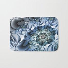 Dynamic Spiral, Abstract Fractal Art Bath Mat