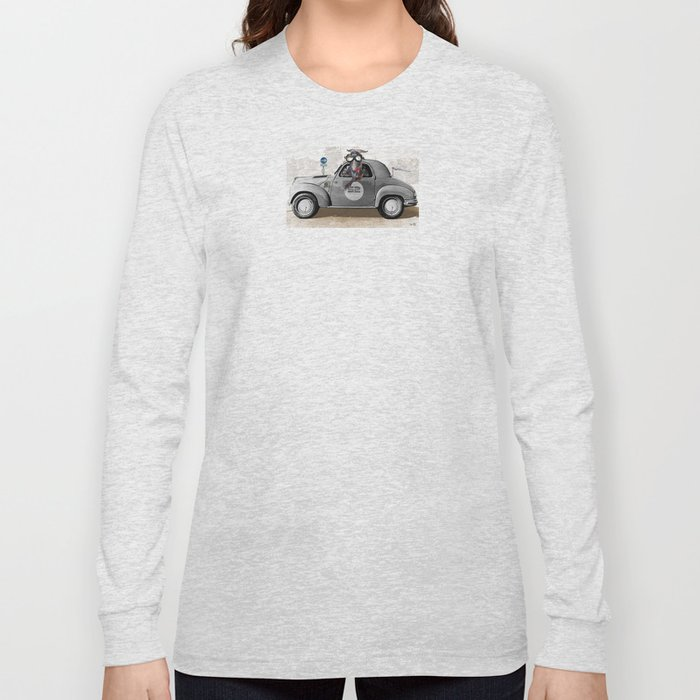 Goat Rally Collage Long Sleeve T-shirt