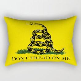 Don't Tread On Me Gadsden Flag Rectangular Pillow