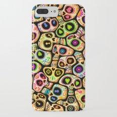 Calaveras del Día de los Muertos. Slim Case iPhone 7 Plus