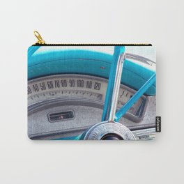 The blue steering wheel Carry-All Pouch