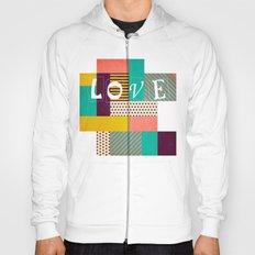 Geometric Love Hoody