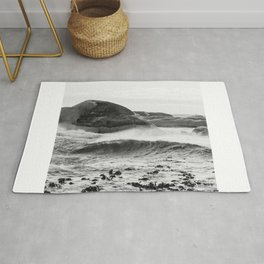 Wave Rushing In Rug