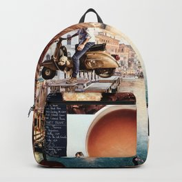 An American in Venice Backpack