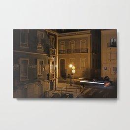 rua sao felix (the lisbon series) Metal Print