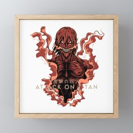 AOT- Founding Titan Framed Mini Art Print