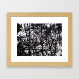Reach Framed Art Print