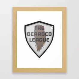 The Bearded League Framed Art Print