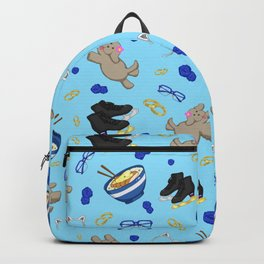Yuri on Ice Podium Family Pattern Backpack