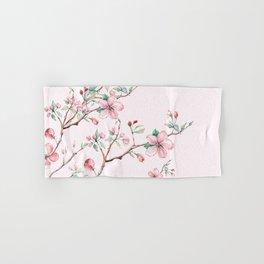 Apple Blossom Pink #society6 #buyart Hand & Bath Towel