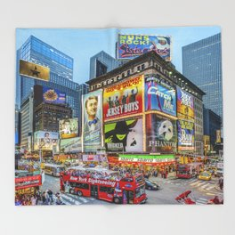 Times Square III Special Edition I Throw Blanket