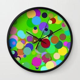 Circles #15 - 03202017 Wall Clock