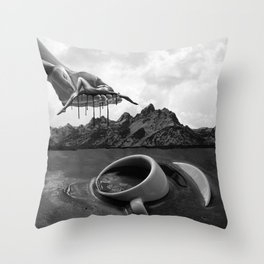 Not Enough Coffee In the World Throw Pillow