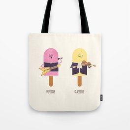 Opposites - Popsicle Tote Bag