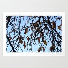 Fade and Fall Art Print