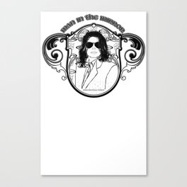 THE KING OF POP Canvas Print