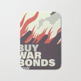 Buy War Bonds now. Bath Mat