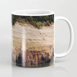 Pictured Rocks III Coffee Mug