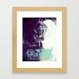 Kaya and the Shadow Spirits Framed Art Print