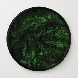 Fern Life Wall Clock